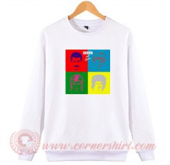 Queen Hot Space Album Sweatshirt