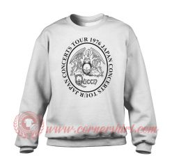 Queen Japan Tour 1976 Sweatshirt