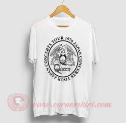 Queen Japan Tour 1976 T Shirt