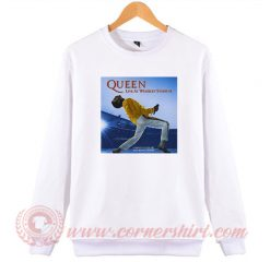 Queen Live At Wembley 86 Sweatshirt