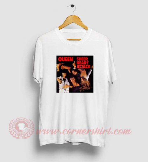 Queen Sheer Heart Attack T Shirt