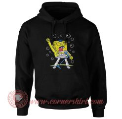 Queen Sponge Freddy Mercury Hoodie