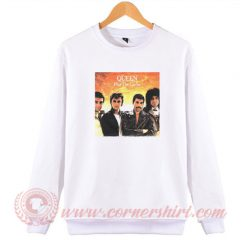 Queen The Game Album Sweatshirt