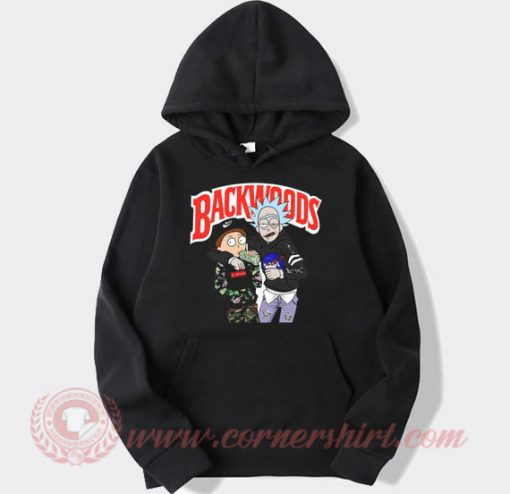 Rick and Morty Backwoods Custom Design Hoodie