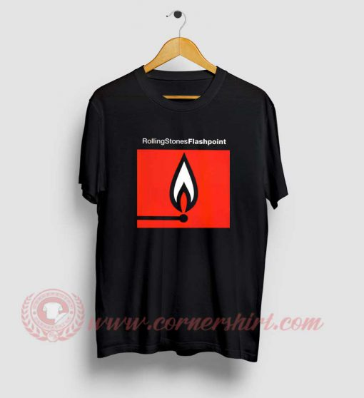 Rolling Stones Flash Point Album T Shirt