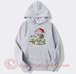 Snoopy And Little Woodstock Christmas Hoodie