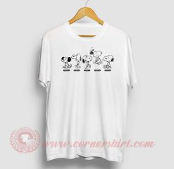 Snoopy Beagle Evolution Custom T Shirt