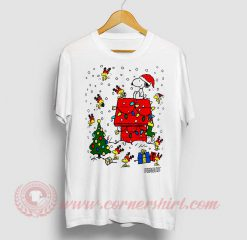 Snoopy Christmas Custom Design T Shirt