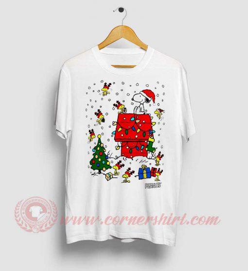 Snoopy Christmas Custom Design T Shirt