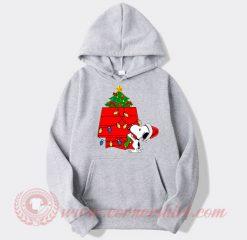 Snoopy Christmas Tree Custom Design Hoodie