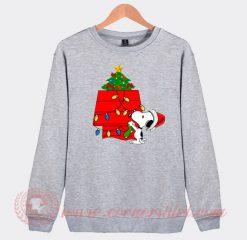 Snoopy Christmas Tree Custom Design Sweatshirt