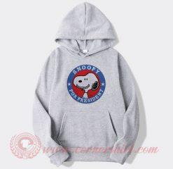 Snoopy For President Custom Design Hoodie