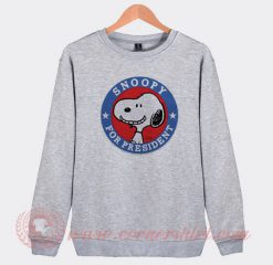 Snoopy For President Custom Design Sweatshirt