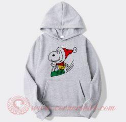 Snoopy Santa Clause Custom Design Hoodie