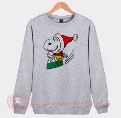 Snoopy Santa Clause Custom Design Sweatshirt