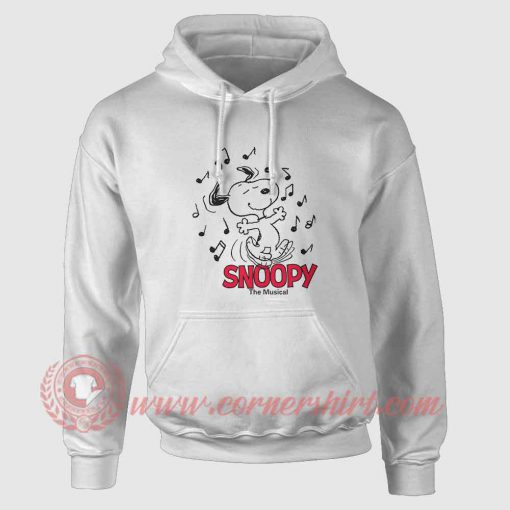 Snoopy The Beagle Musical Custom Hoodie