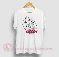 Snoopy The Beagle Musical Custom T Shirt