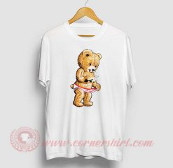 Swarovski Snap Teddy Bear T Shirt
