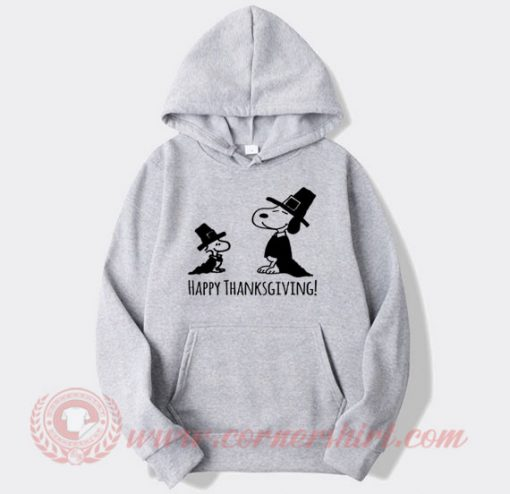 Thanksgiving Snoopy Custom Design Hoodie