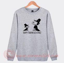 Thanksgiving Snoopy Custom Design Sweatshirt