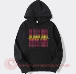The Rolling Stones Emotional Rescue Hoodie