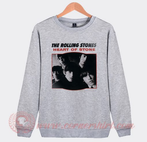 The Rolling Stones Heart Of Stone Sweatshirt