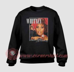 Whitney Houston Wanna Dance Custom Sweatshirt