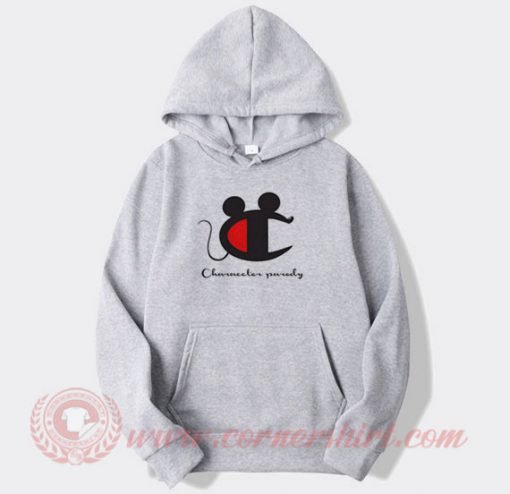 Champions Parody Mickey Mouse Hoodie