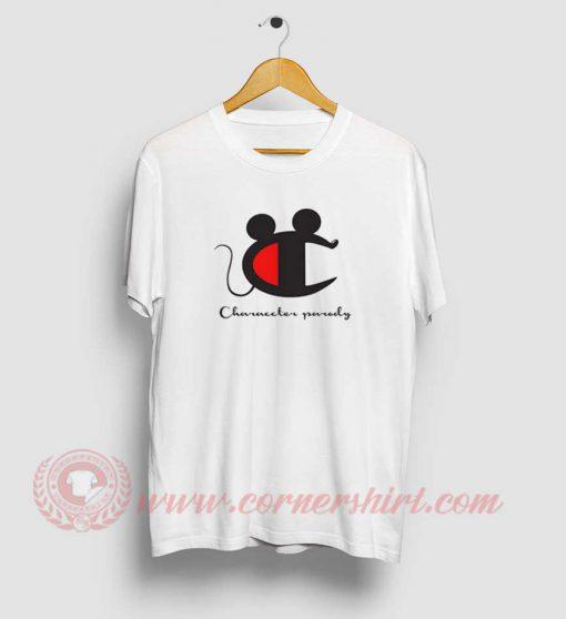Champions Parody Mickey Mouse T Shirt