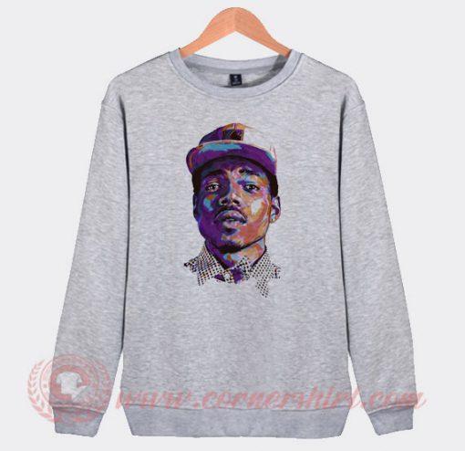 Chance The Rapper Face Sweatshirt