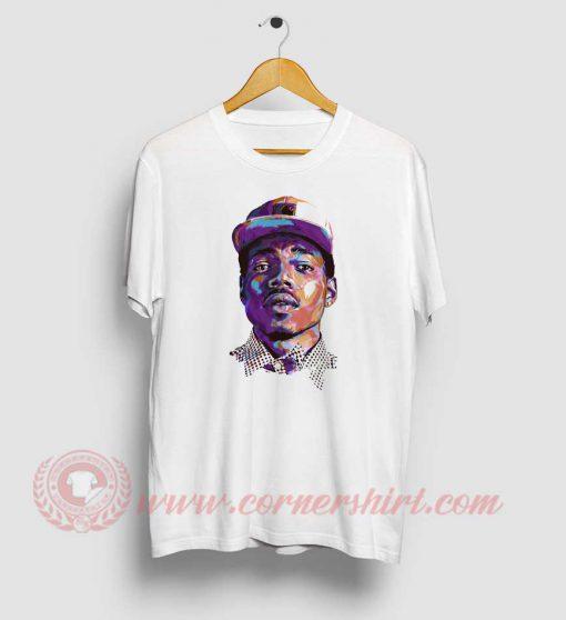 Chance The Rapper Face T Shirt