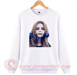 Lana Del Rey Blue Rose Sweatshirt