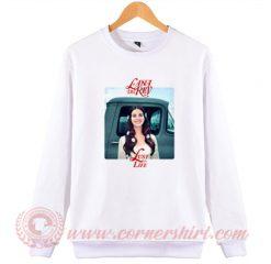 Lana Del Rey Rose Lust For Life Sweatshirt