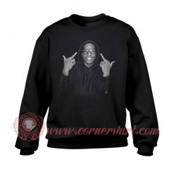 ASAP Black Custom Design Sweatshirt