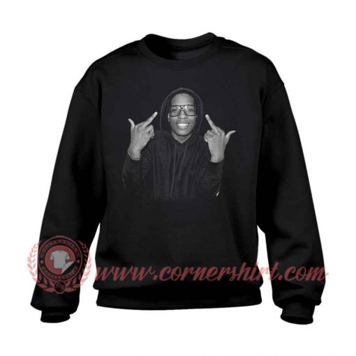 ASAP Black Custom Design Sweatshirt