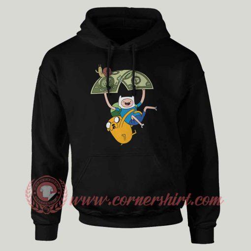 Adventure Time Jack And Fine Custom Hoodie