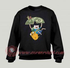 Adventure Time Jack And Fine Custom Sweatshirt