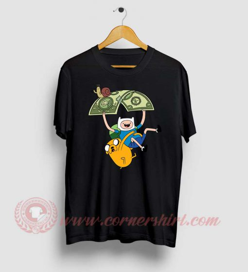 Adventure Time Jack And Fine Custom T Shirts