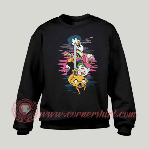 Adventure Time Custom Design Sweatshirt