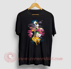 Adventure Time Custom Design T Shirts