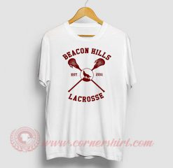 Beacon Hills Logo Custom Design T Shirts