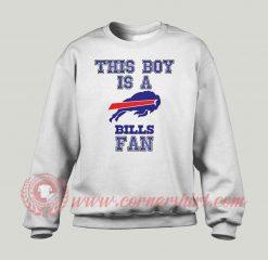Buffalo Bills National Football Custom Sweatshirt