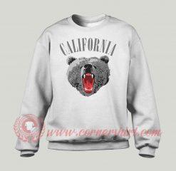 California Bear Custom Design Sweatshirt