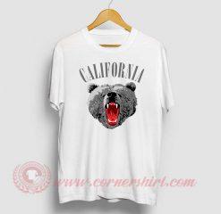 California Bear Custom Design T Shirts