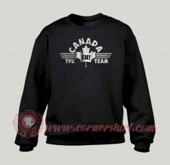Canada EH Team Custom Design Sweatshirt