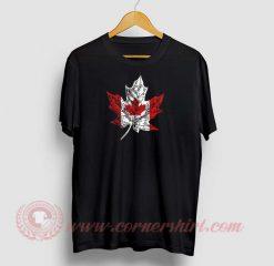 Canadian Maple Leaf Custom T Shirts