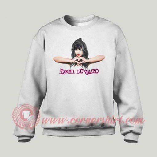 Demi Lovato Custom Design Sweatshirt