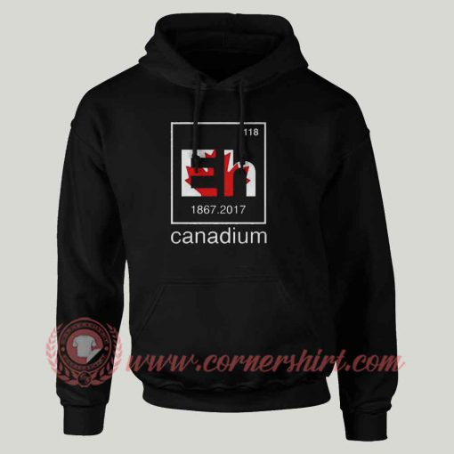 EH Canadium Custom Design Hoodie