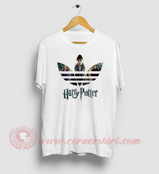 Harry Potter X Adidas Parody T Shirt