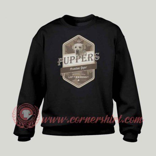 Letterkenny Puppers Premium Lager Beer Sweatshirt